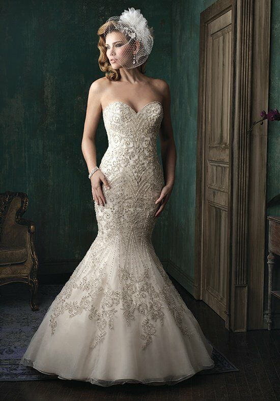 Allure Couture C348 Mermaid Wedding Dress