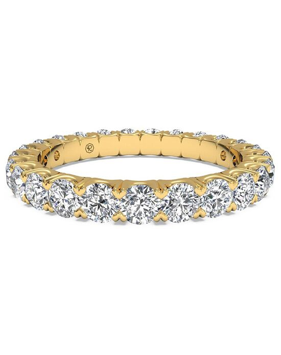 Ritani Women's Shared-Prong Diamond Wedding Ring - in 18kt Yellow Gold - (1.25 CTW) Gold Wedding Ring