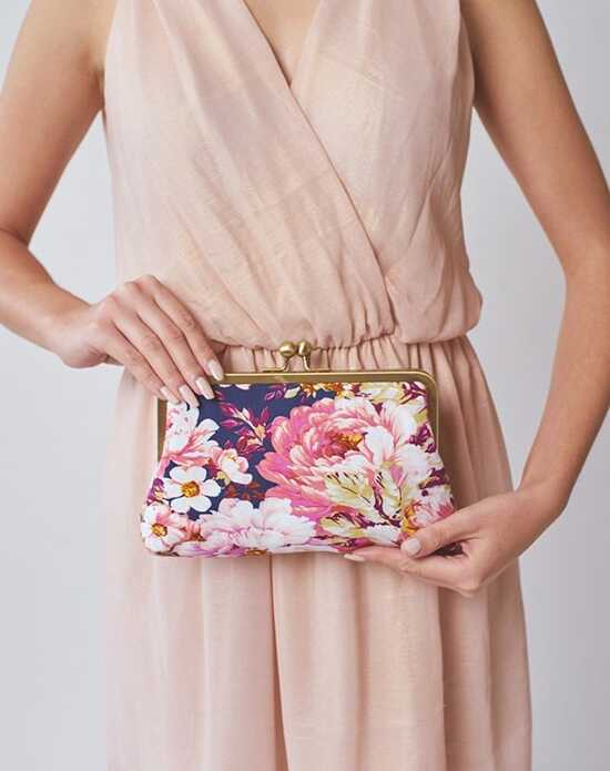 Davie & Chiyo | Clutch Collection Violetta Clutch Blue, Gold, Ivory, Pink, Purple, Yellow Clutches + Handbag