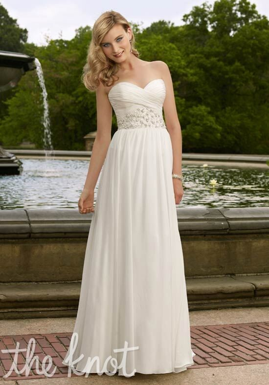 Morilee by Madeline Gardner/Voyage 6703 Sheath Wedding Dress