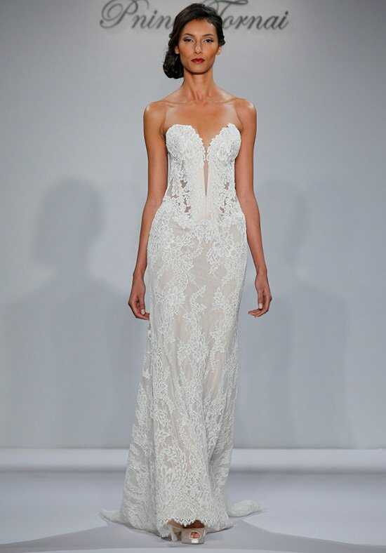 Pnina Tornai for Kleinfeld 4348 Sheath Wedding Dress