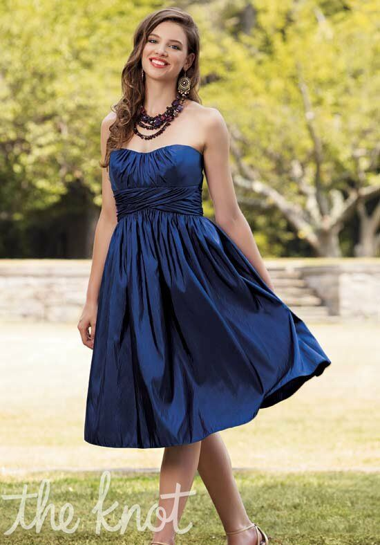 Jordan 104 Strapless Bridesmaid Dress