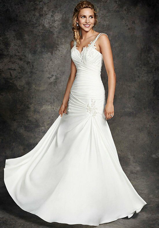 Ella Rosa BE258 Mermaid Wedding Dress