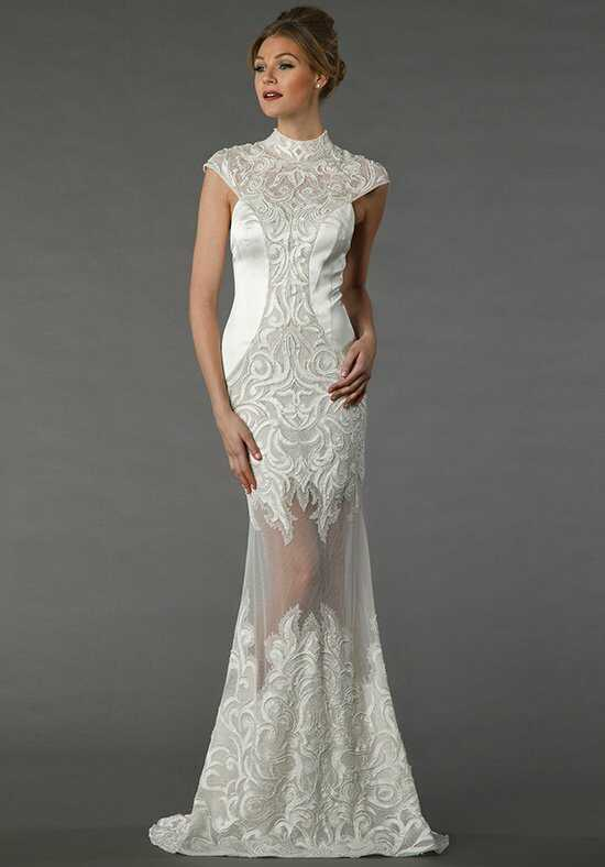 Silk wedding dresses tony ward for kleinfeld junglespirit