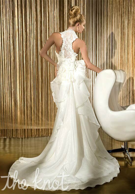 Demetrios 1417 Sheath Wedding Dress