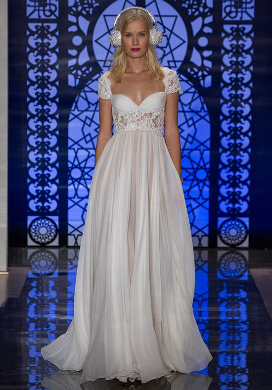Reem Acra Adele Sheath Wedding Dress