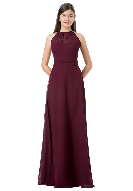 Bill Levkoff 1214 Illusion Bridesmaid Dress