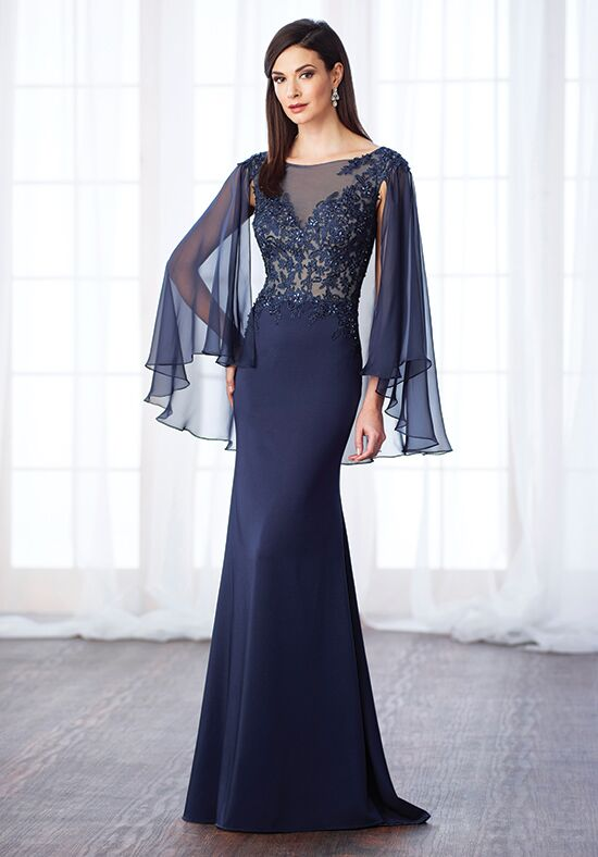 Cameron Blake 217638 Blue Mother Of The Bride Dress