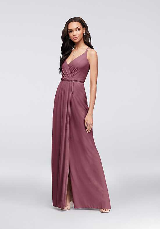 David's Bridal Collection David's Bridal Style F19755 V-Neck Bridesmaid Dress