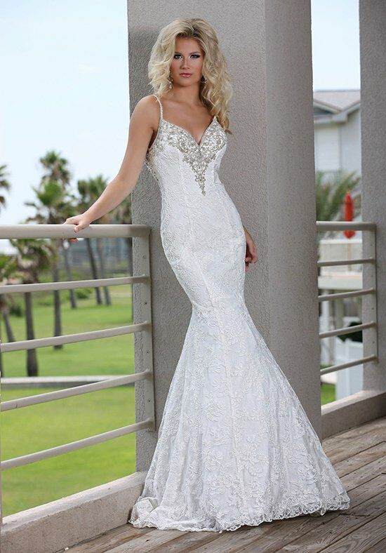 DaVinci Bridal 50254 Mermaid Wedding Dress