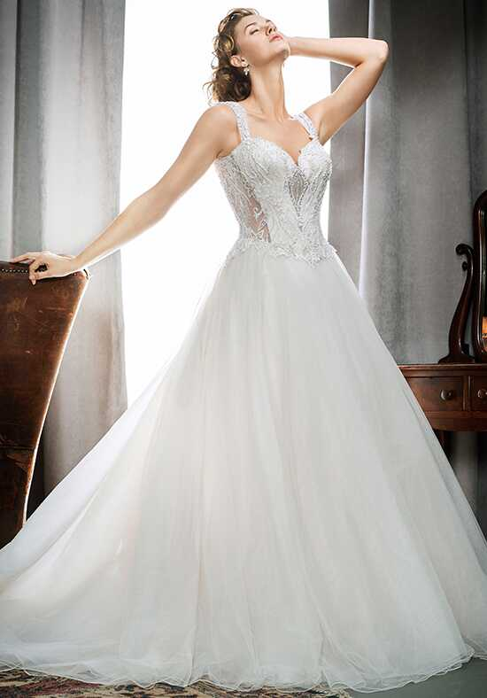 Kenneth Winston 1723 Ball Gown Wedding Dress