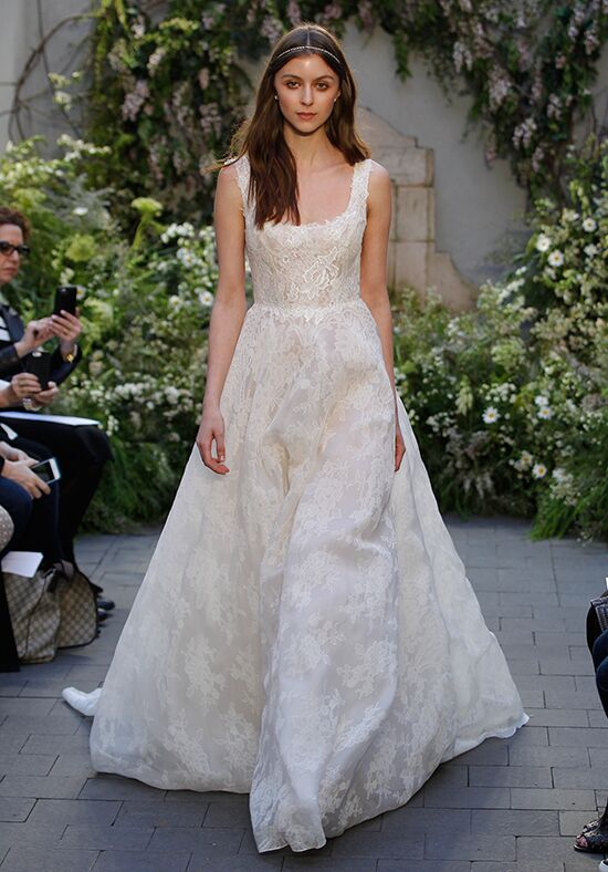 Monique Lhuillier Bella Ball Gown Wedding Dress