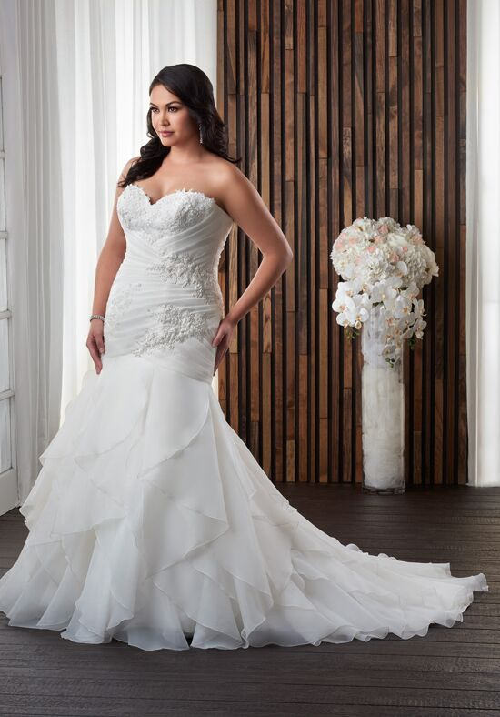Unforgettable by Bonny Bridal 1706 Mermaid Wedding Dress