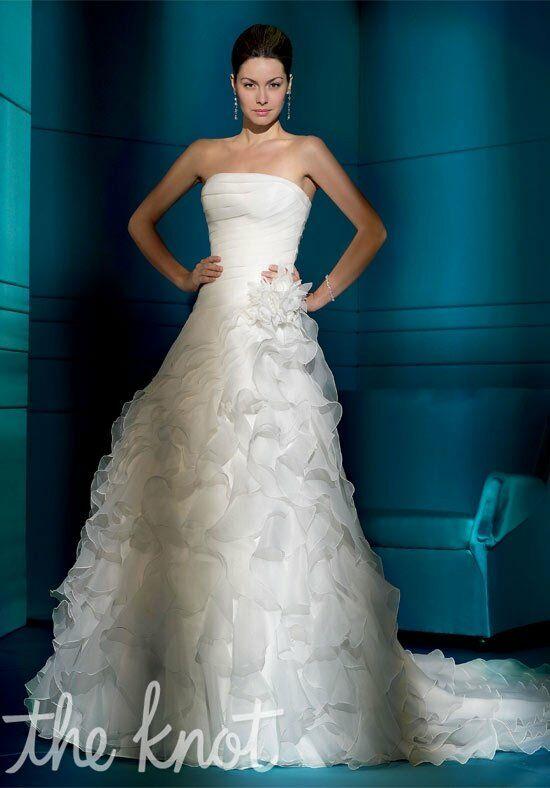 Demetrios 3169 A-Line Wedding Dress