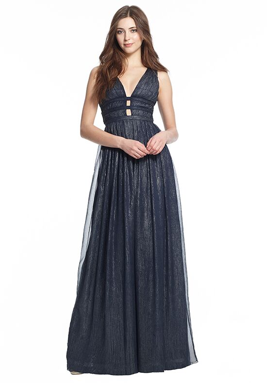 Monique Lhuillier Bridesmaids 450487 V-Neck Bridesmaid Dress