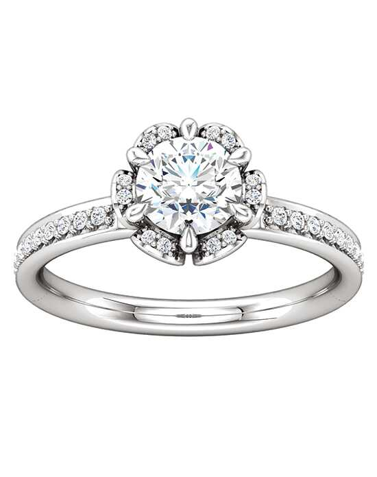 ever&ever Elegant Marquise, Round, Oval Cut Engagement Ring