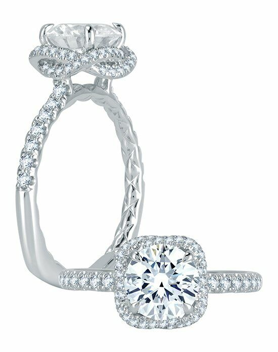 A.JAFFE Cut Engagement Ring