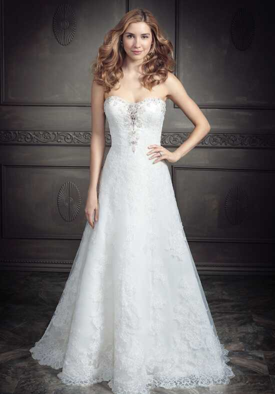 Kenneth Winston: Ella Rosa Collection BE342 A-Line Wedding Dress
