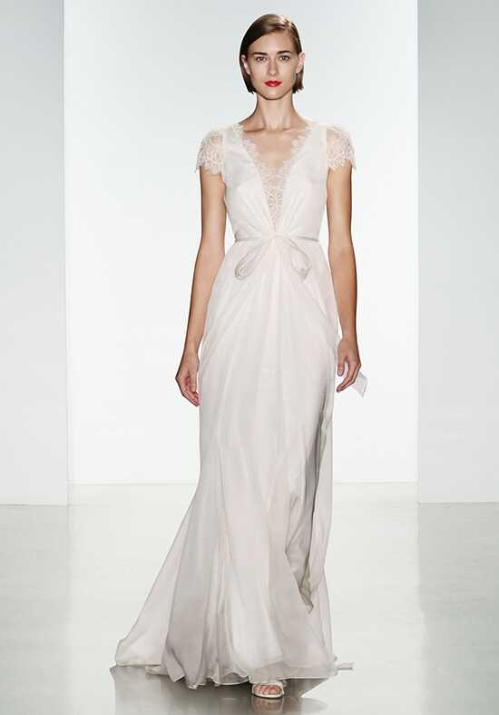 Christos Laine Sheath Wedding Dress