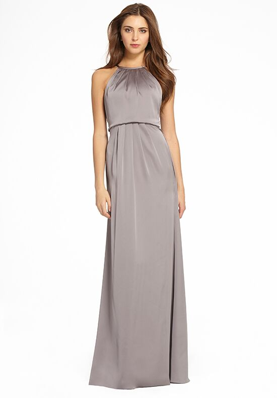 Monique Lhuillier Bridesmaids 450550 Halter Bridesmaid Dress