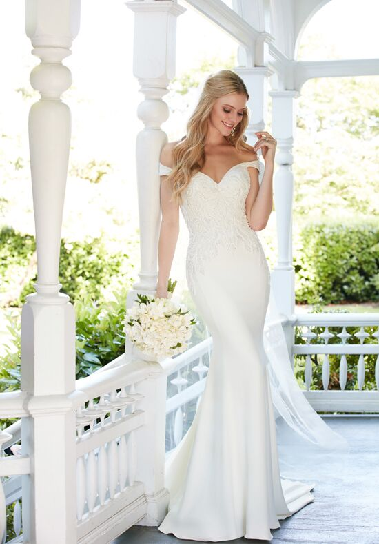 Martina Liana 876 Sheath Wedding Dress