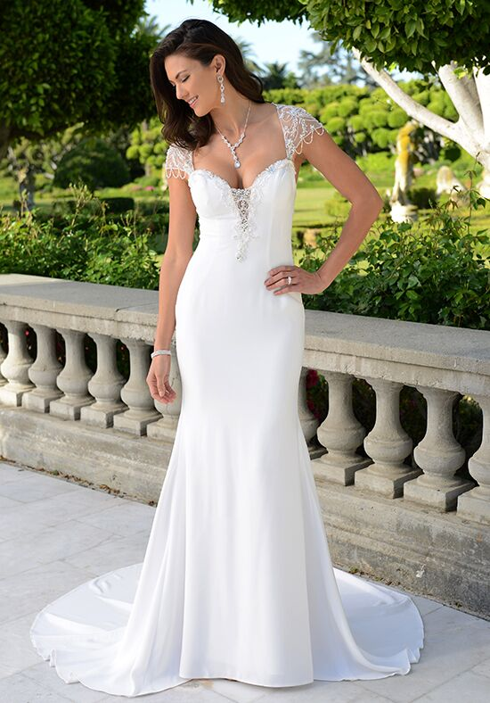 Pallas Athena PA9297N Mermaid Wedding Dress