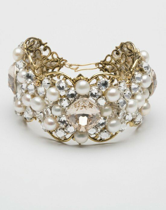 MEG Jewelry Aili cuff Wedding Bracelet photo