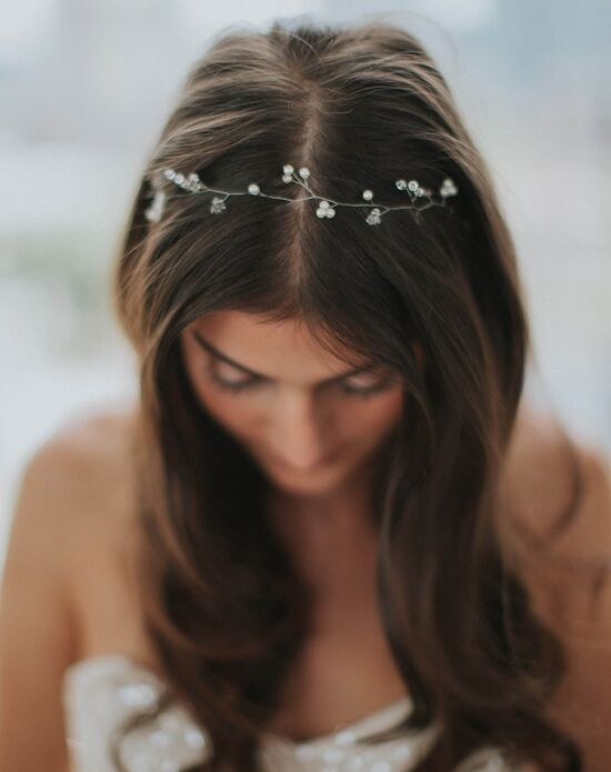 Davie & Chiyo | Hair Accessories & Veils Ilse Hair Wreath Gold, Ivory, Silver Headband