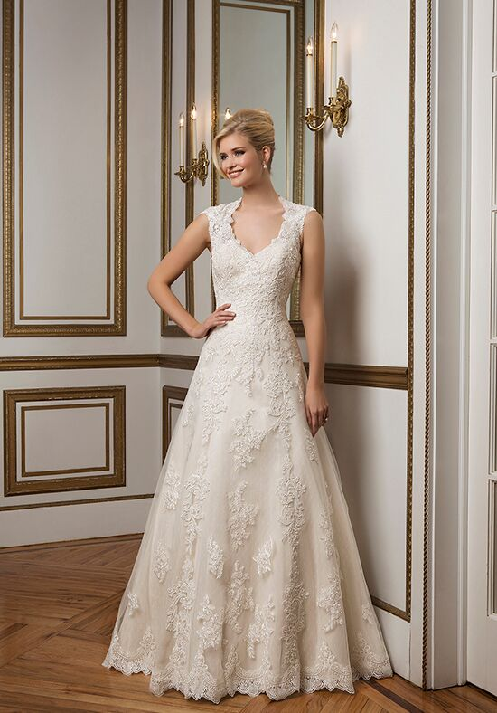 Justin Alexander 8822 A-Line Wedding Dress