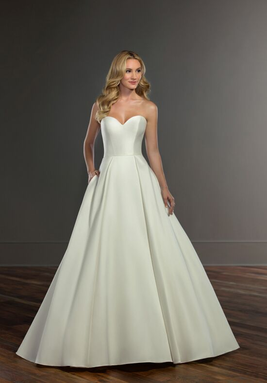 Martina Liana 849 Ball Gown Wedding Dress