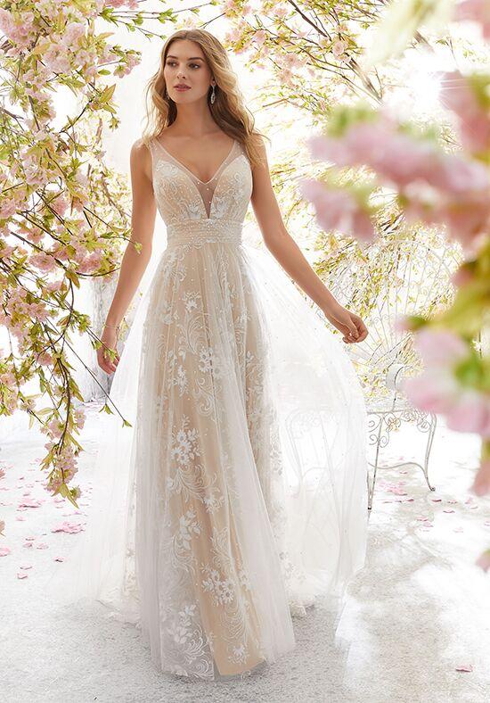 Morilee By Madeline Gardner Voyage 6896 Libby A Line Wedding Dress