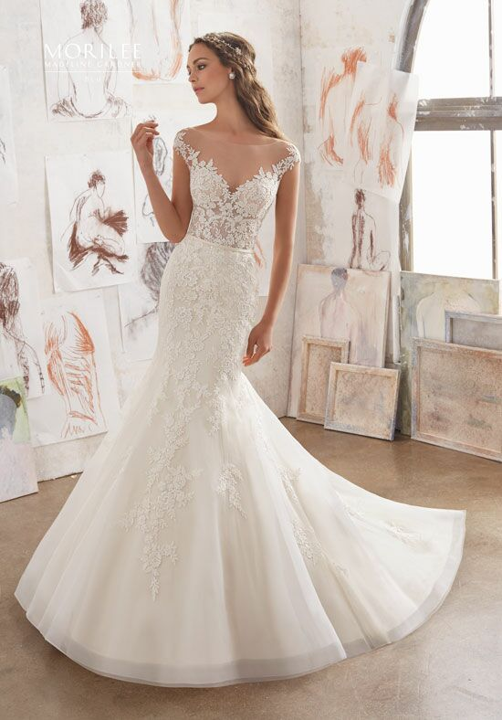 Morilee by Madeline Gardner/Blu 5509 Mermaid Wedding Dress