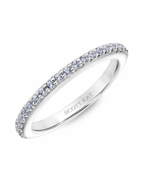 Scott Kay 31-SK6035W-L Platinum Wedding Ring