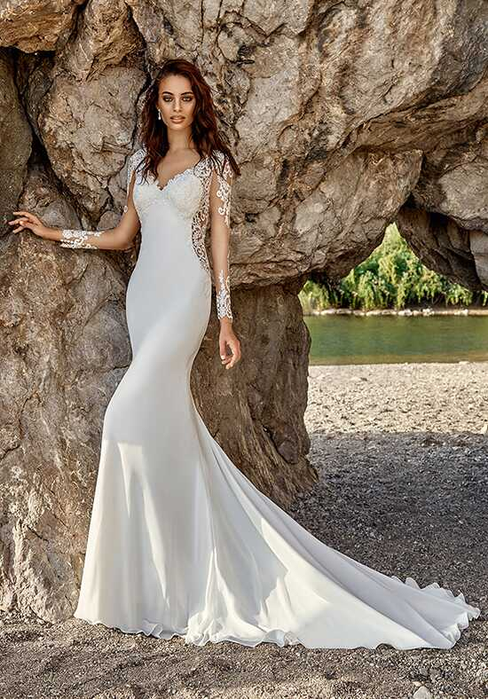 Eddy K Isandra Sheath Wedding Dress