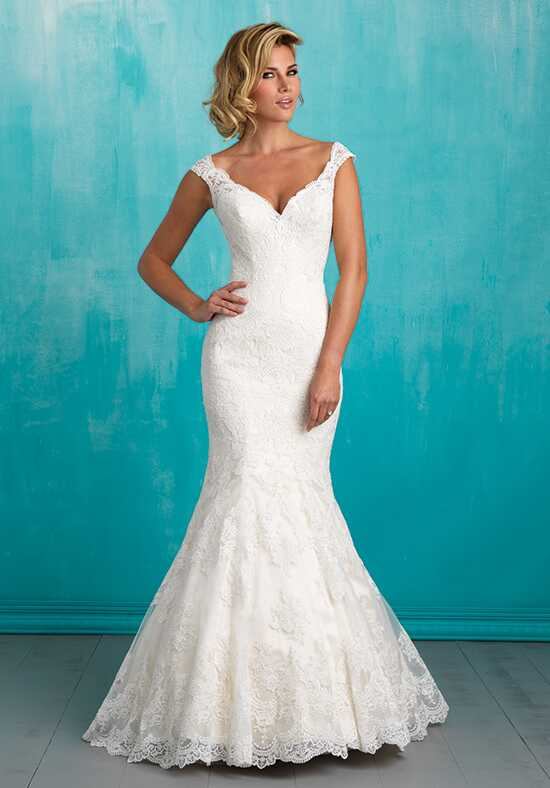 Allure Bridals 9322 Sheath Wedding Dress