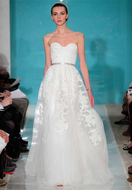 Reem Acra 4738 A-Line Wedding Dress