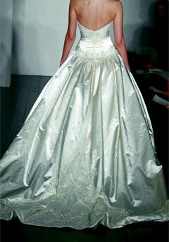 Kenneth Pool Stunning Ball Gown Wedding Dress