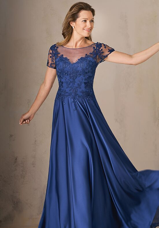 Jade Couture K208003 Blue Mother Of The Bride Dress