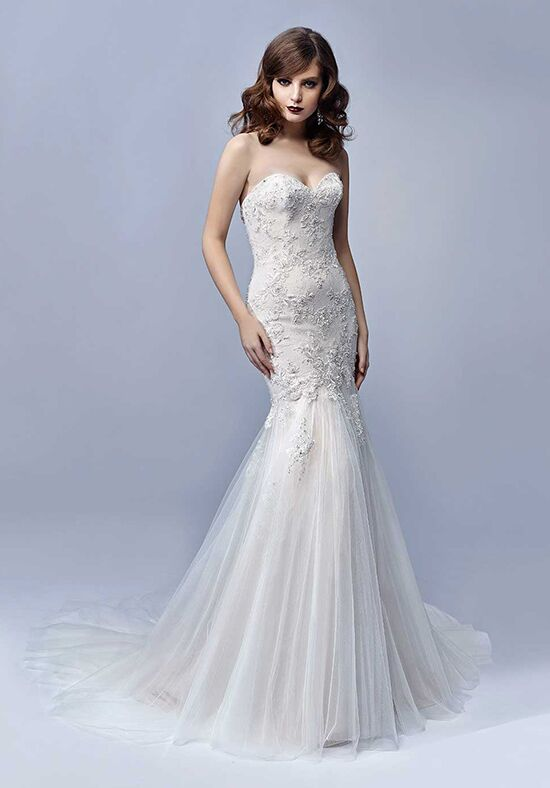 Blue by Enzoani Judith Mermaid Wedding Dress