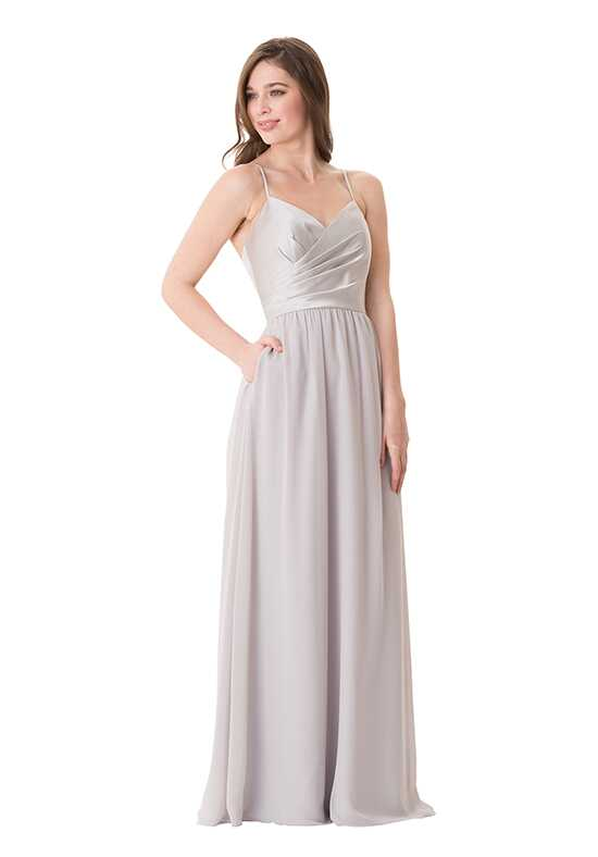 Bari Jay Bridesmaids 1656 V-Neck Bridesmaid Dress