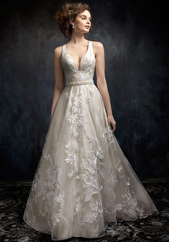 Kenneth Winston 1732 A-Line Wedding Dress