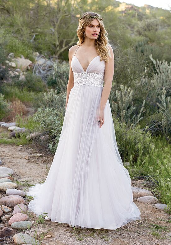 Lillian West 6530 A-Line Wedding Dress