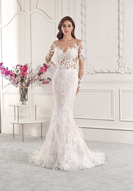 Demetrios 885 Mermaid Wedding Dress