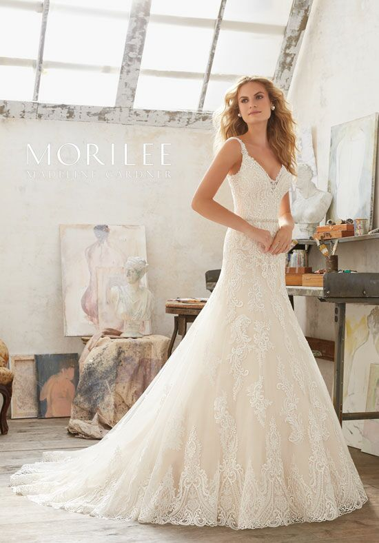Morilee by Madeline Gardner Mariana/8122 A-Line Wedding Dress