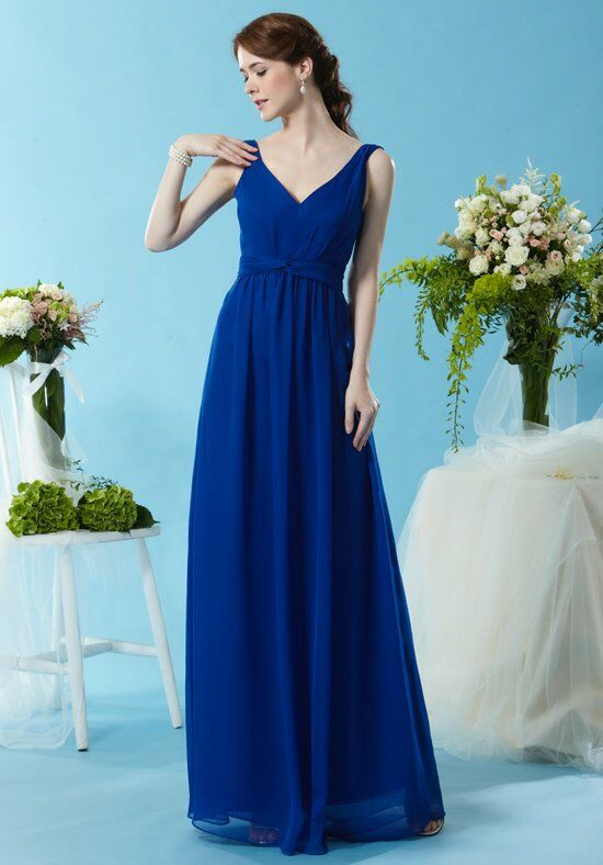 Eden Bridesmaids 7450 V-Neck Bridesmaid Dress