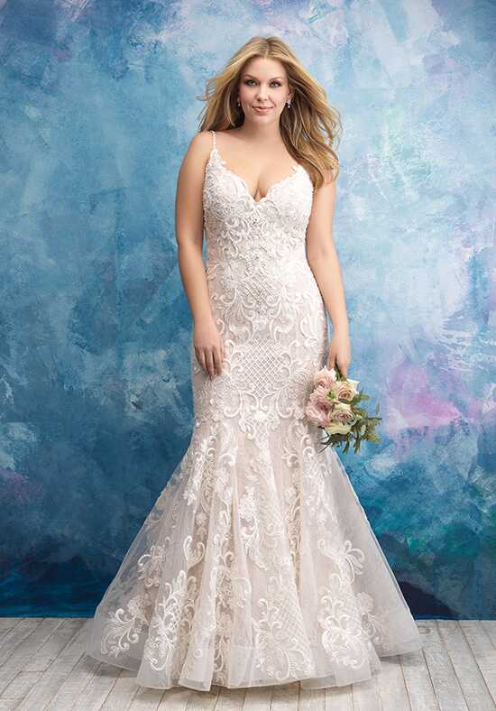 Allure Women W430 Mermaid Wedding Dress