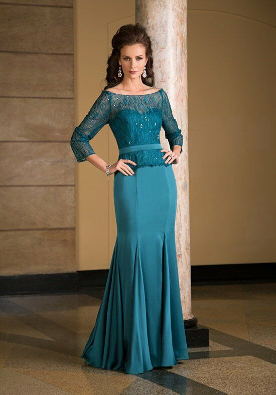 Jade Couture K168069 Green Mother Of The Bride Dress