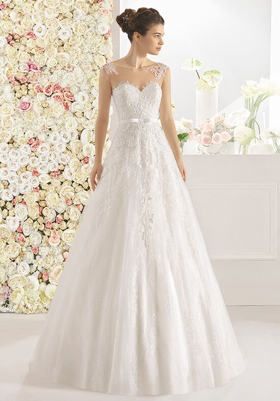 Aire Barcelona Cano A-Line Wedding Dress