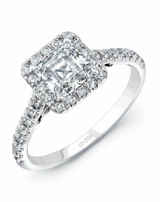 Uneek Fine Jewelry A101PRW-5.5PC Engagement Ring photo