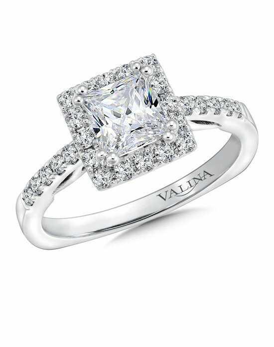 princess cut engagement rings - Princes Cut Wedding Rings